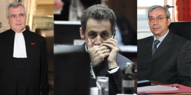 Affaire des écoutes: l'avocat de Sarkozy et le magistrat Gilbert Azibert en garde à