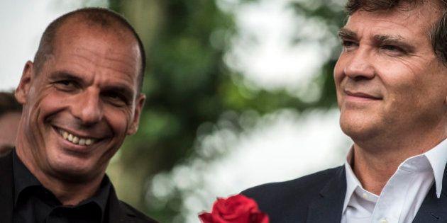 Arnaud Montebourg et Yanis Varoufakis vent debout contre l'austérité à