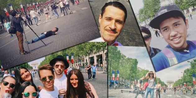 PHOTOS. Parisiens et touristes aux anges avec l'opération Champs-Élysées