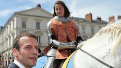 Le discours tout en allusions de Macron sur Jeanne