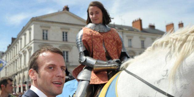 Le discours tout en allusions d'Emmanuel Macron qui honore Jeanne d'Arc à