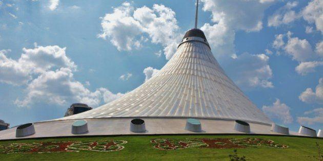 Astana, Kazakhstan, Khan Shatyr, achitect Norman