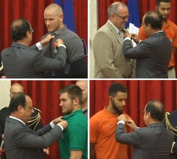 Revivez la remise de la Légion d'honneur aux héros du