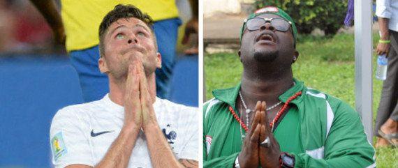 Huitièmes de finale Coupe du Monde 2014 - France-Nigeria: le huitième de finale des Bleus à la Coupe...