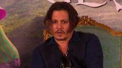 Johnny Depp a une dent contre les