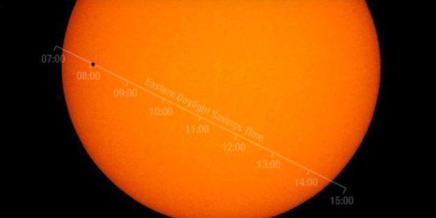 VIDÉO. Comment regarder en direct le transit de Mercure devant le