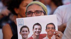 Trois jeunes Israéliens enlevés en Cisjordanie retrouvés