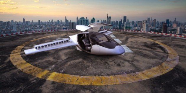 PHOTOS. Lilium, le jet privé à décollage vertical, est prévu pour