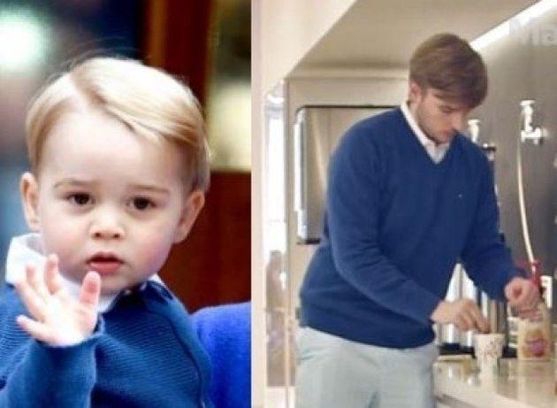 PHOTOS. Âgé de 23 ans, il s'habille comme le Prince George durant une