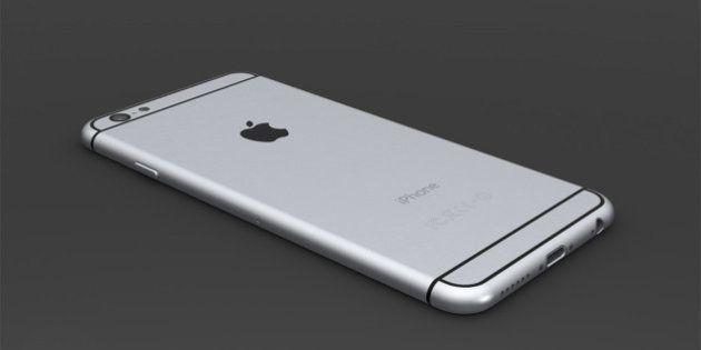 La batterie de cet iPhone 6 fonctionne pendant une semaine grâce à une pile à
