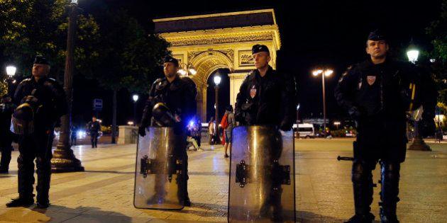 Coupe du monde 2014: 29 interpellations en France après des dégradations, quelques drapeaux à