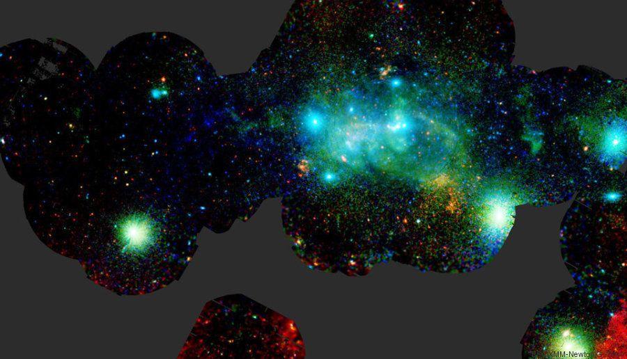 PHOTOS. Voici le centre de notre galaxie (et son énorme trou