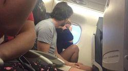 Elle live-tweete la rupture d'un couple dans un avion (et gagne 7000