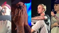 Justin Bieber n'en finit plus de pleurer pendant ses