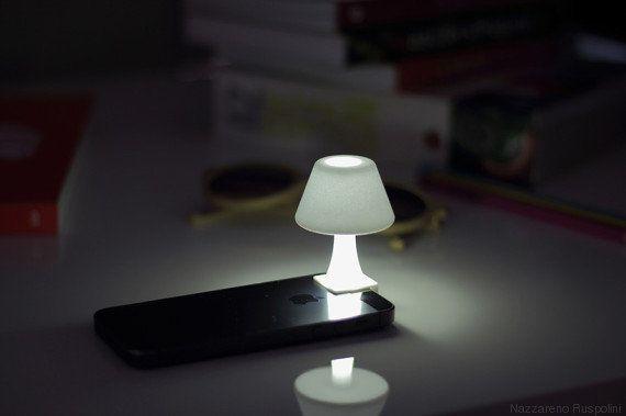 PHOTOS. Un abat-jour pour transformer votre iPhone en mini-lampe de