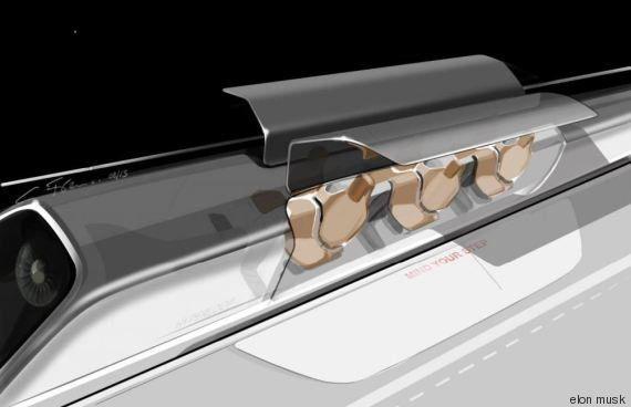 Hyperloop, le projet fou de transport d'Elon Musk, est devenu une vraie course