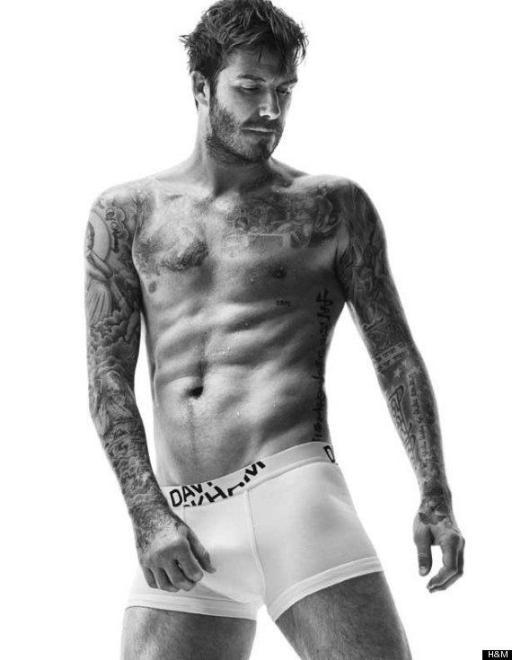 PHOTOS. David Beckham sexy et barbu pour la nouvelle collection