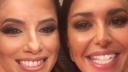 Eva Longoria et Cheryl Cole échangent leurs visages et on dirait des
