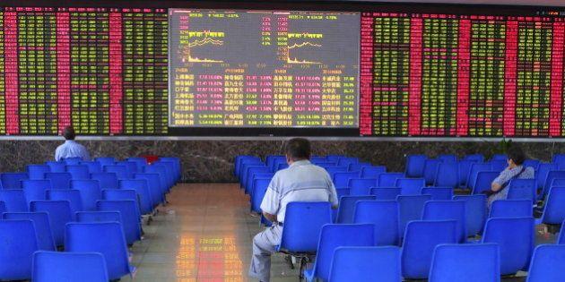 Crise de la bourse en Chine: comment le gouvernement l'a fait gonfler jusqu'à