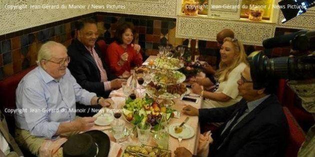 Jean-Marie Le Pen vous assure qu'il a bien dîné avec Jesse