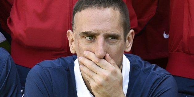 Quarts de finale de la Coupe du monde 2014: Ribéry refuse d'aller au Brésil pour