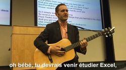 VIDÉO. Ce prof partage sa passion pour Excel... avec une chanson de Justin