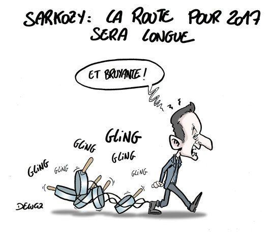 Mise en examen de Nicolas Sarkozy: une affaire qui fait du