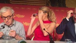 Blake Lively confond ses oreillettes avec un casque de réalité