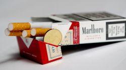 Encore une augmentation de 30 centimes pour les cigarettes
