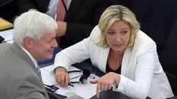 Elle renonce à sanctionner Gollnisch malgré son 1er mai avec Jean-Marie Le