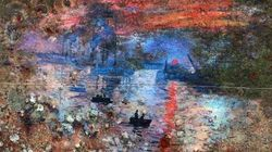 Il peint un Monet sur la coque d'une