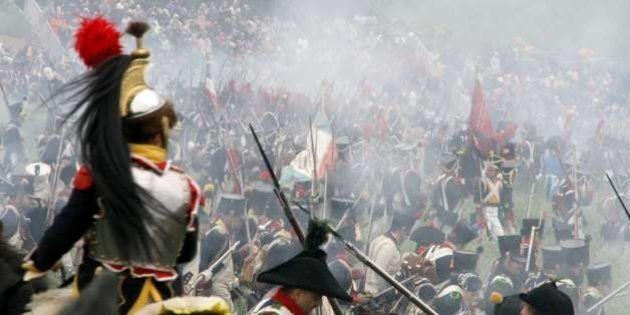 Europe Europa Belgique België Belgium Belgien Belgica Province de Brabant wallon Waterloo Reconstitution de la bataille du 18 juin 1815.  Dimanche, 20 juin 2010