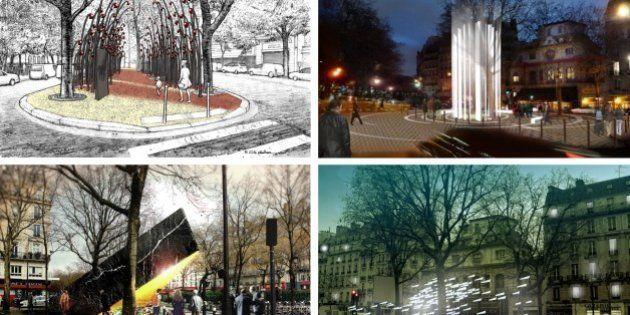 Voici les dix projets de mémorial citoyen en hommage aux victimes des attentats de
