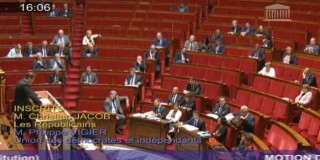 Pourquoi l'Assemblée est si vide pendant le débat sur la motion de