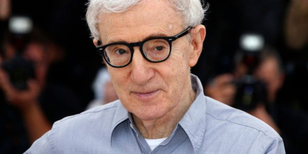 Director Woody Allen poses during a photocall for the