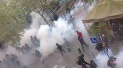 Des affrontements éclatent en marge de la manif anti-loi