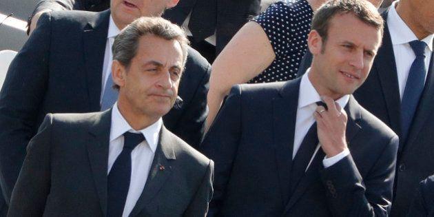 Pour Sarkozy, Macron est