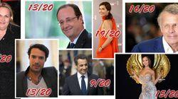 Bedos, Sarkozy, PPDA, Bachelot... qui a eu la meilleure note en