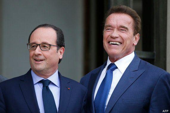 Arnold Schwarzenegger rencontre François Hollande pour discuter climat et écologie mais est-il si vert...