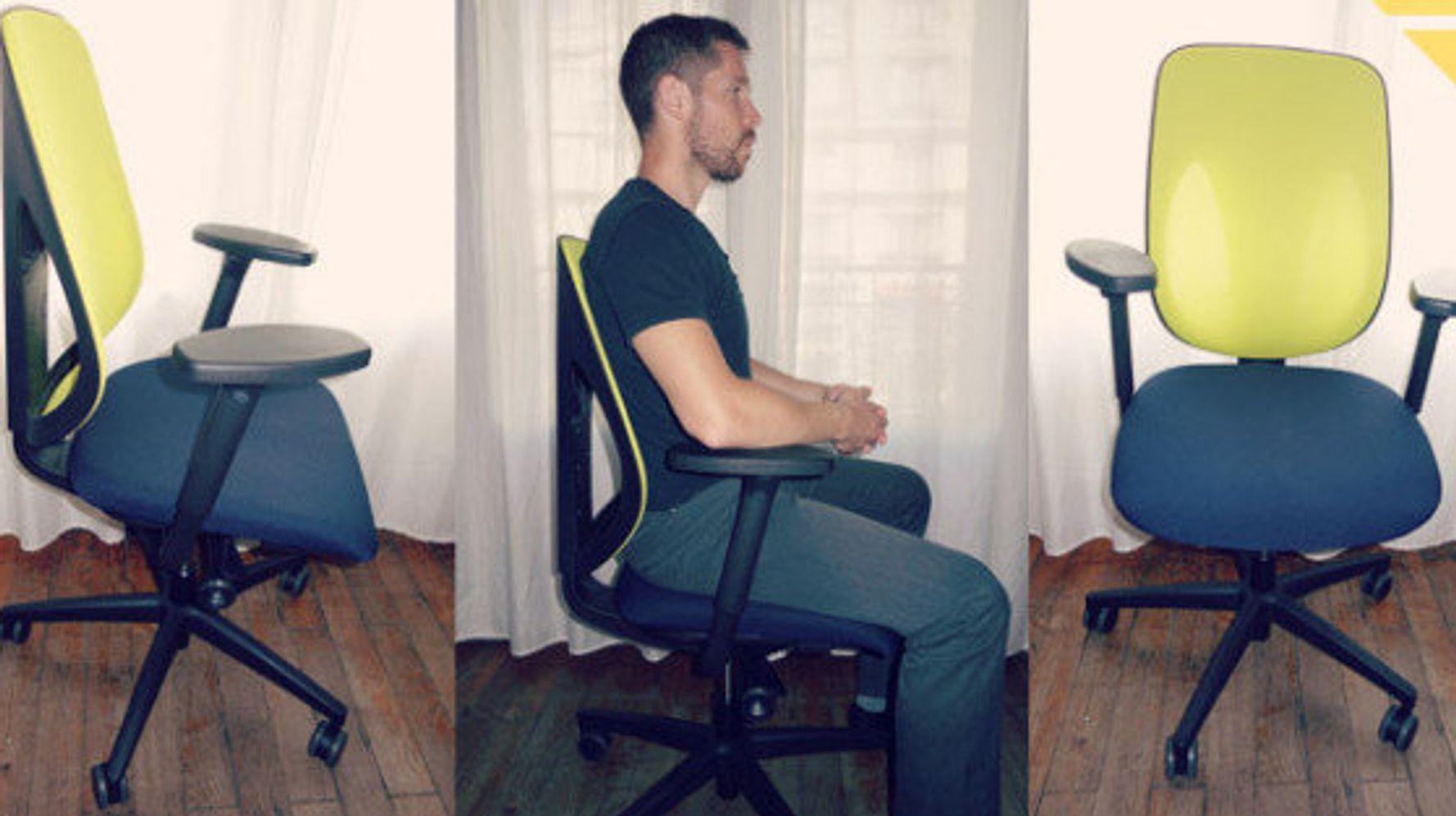 chaise de bureau dossier droit