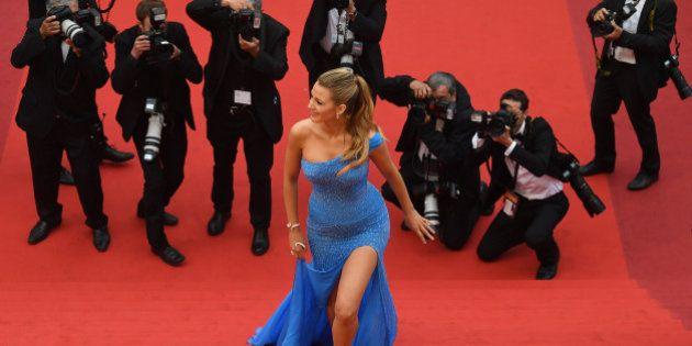 PHOTOS. Blake Lively, star incontestée du tapis rouge du Festival de Cannes