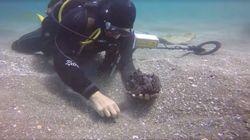 Un trésor romain vieux de 1600 ans retrouvé dans les eaux du port de