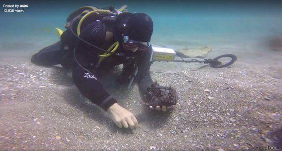 VIDÉO. Un trésor romain vieux de 1600 ans retrouvé dans les eaux du port de