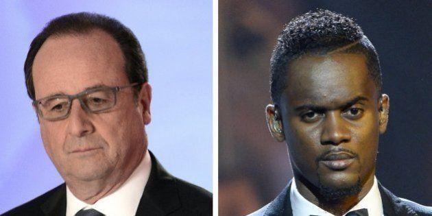Hollande promet de sécuriser le concert de Black M, s'il est reprogrammé à