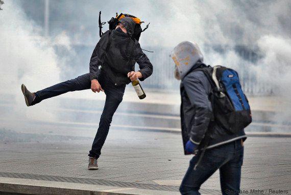 VIDÉO. Des débordements observés en marge des manifestations anti-loi travail du mardi 17