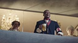 VIDÉO. Marcel Desailly en révolutionnaire français pour la publicité d'une bière