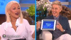 Christina Aguilera imite très bien Rihanna, Beyoncé et Whitney