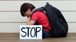 Le harcèlement à l'école n'est pas qu'