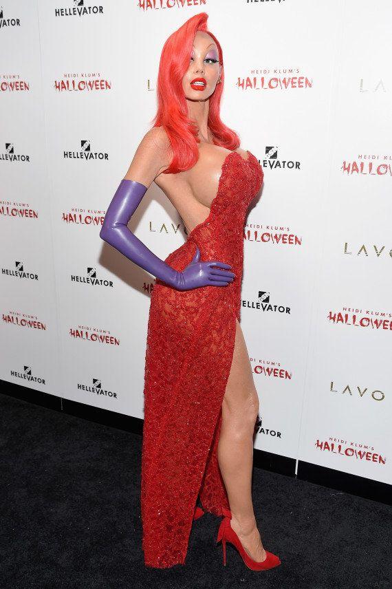 VIDEOS. Heidi Klum a encore été la reine du déguisement pour Halloween en