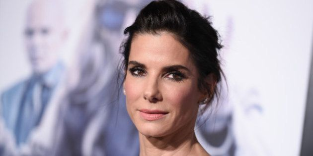 FILE - In this Monday, Oct. 26, 2015 file photo, actress Sandra Bullock arrives at the LA Premiere